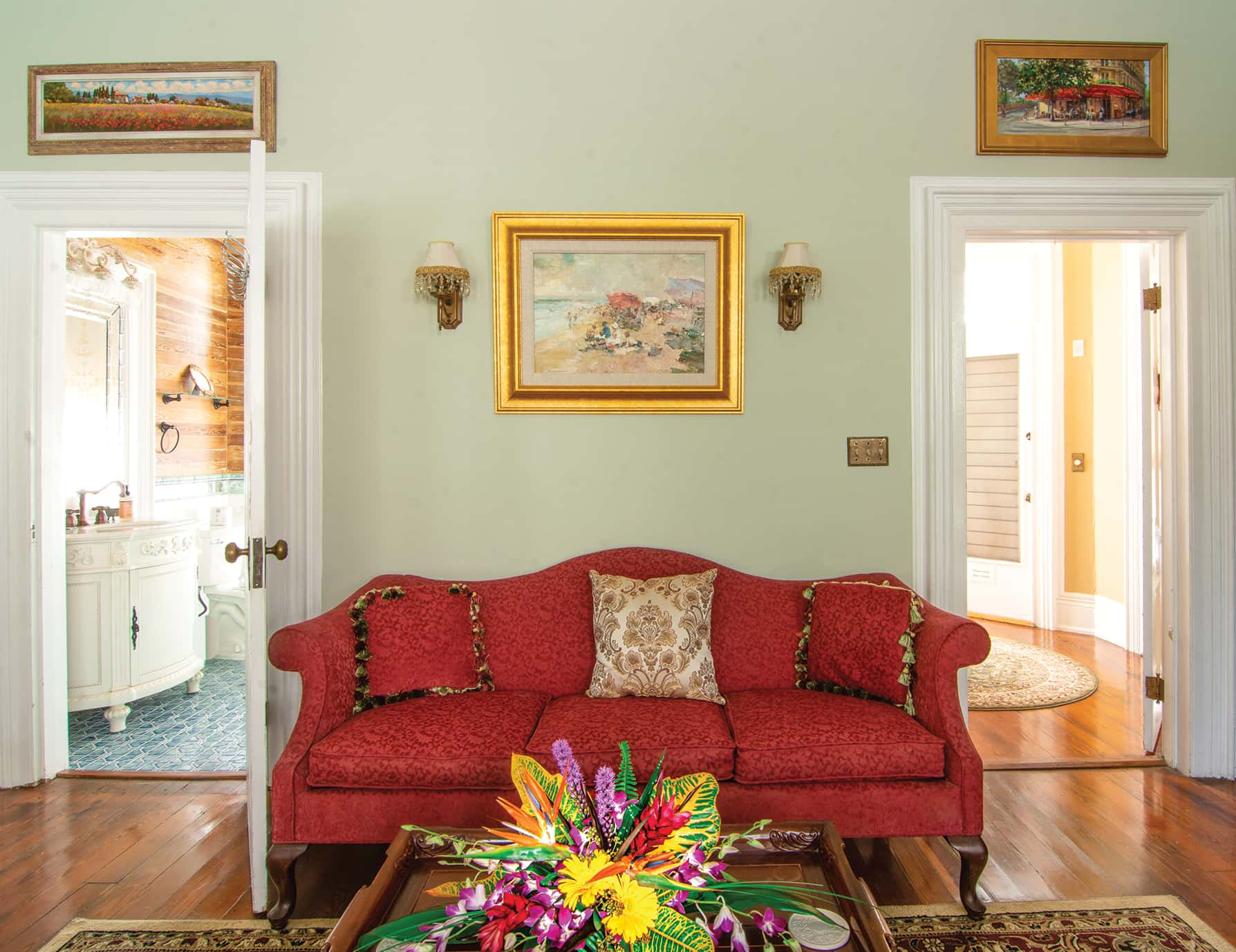 Anne Suite sitting area at our Key West, FL Inn