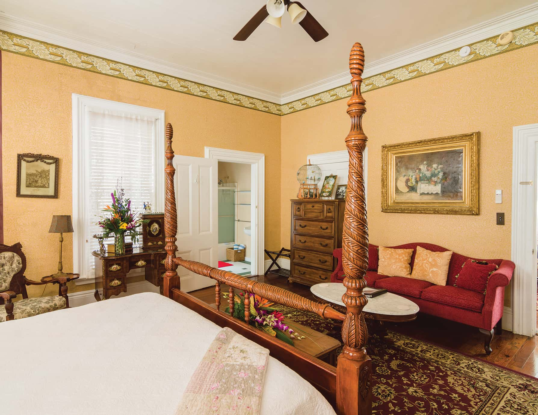 Eugene Studio Suite sitting area at our Historic Key West, Florida Inn