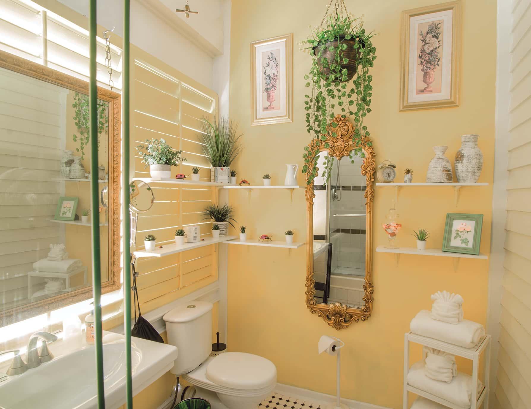 Turret Room bathroom at our Key West luxury inn