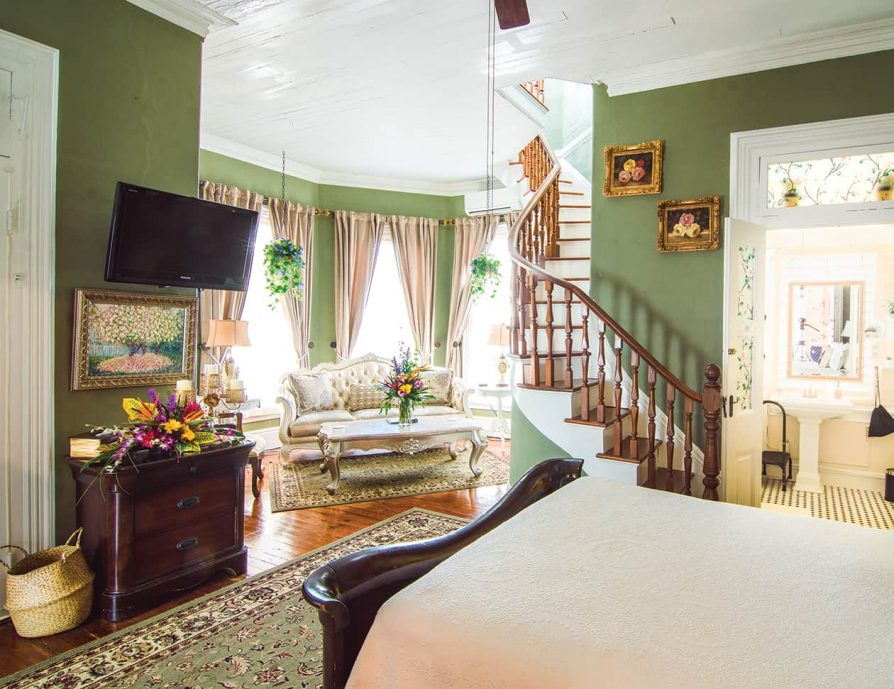 Turret Room at our Key West luxury inn