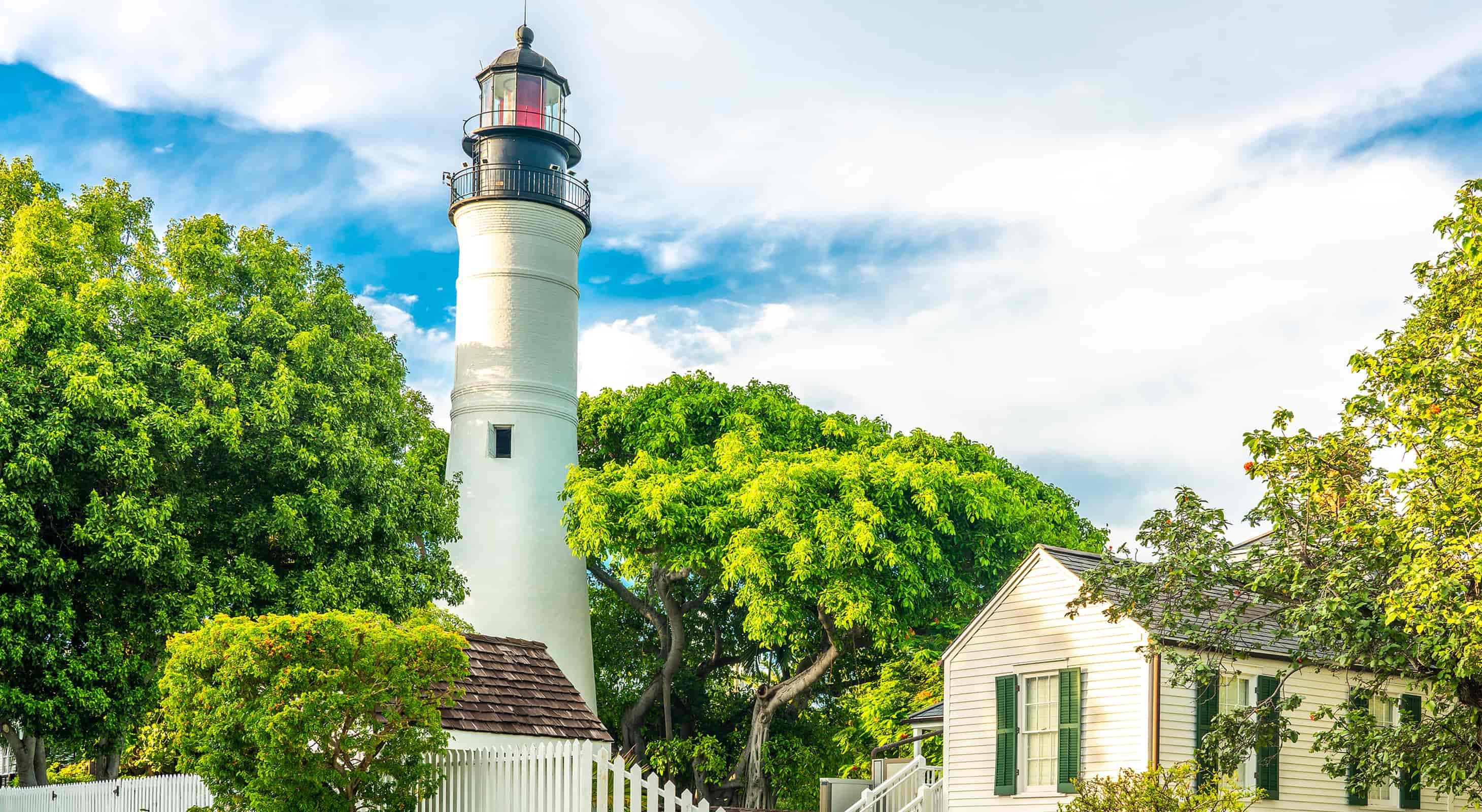 Lighthouse in Key West, FL