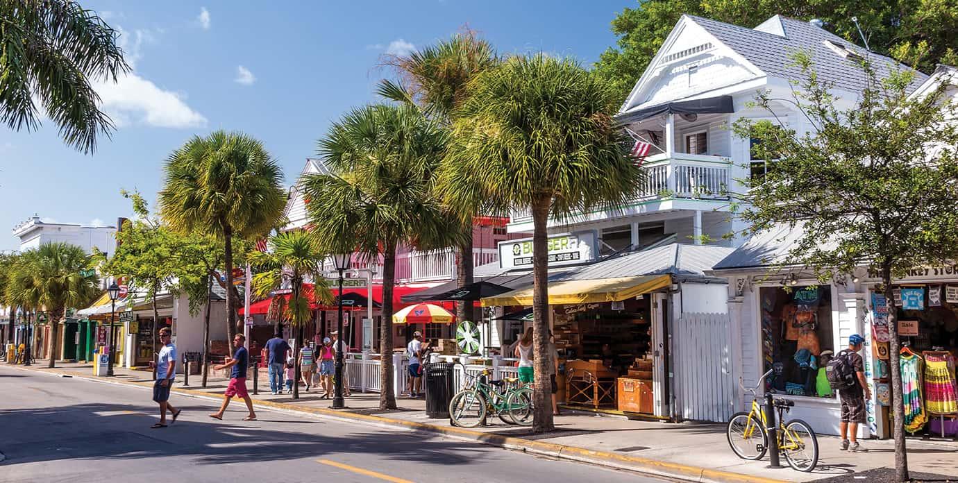 Downtown Key West, Florida