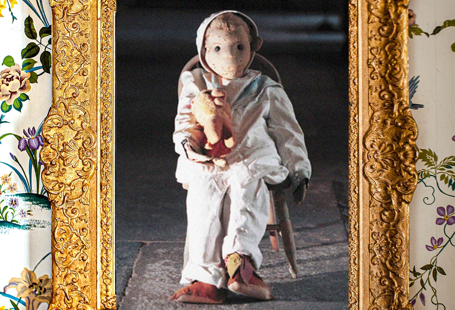 Portrait of Robert the Doll from our Key West inn