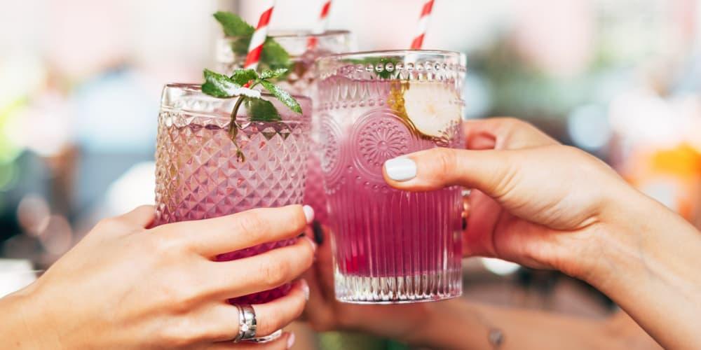 drinks on Duval Street